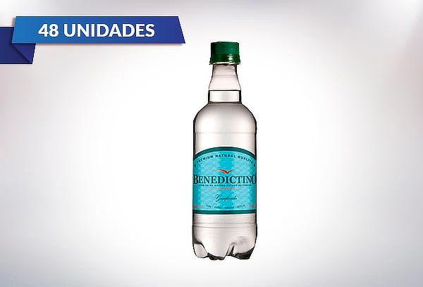 48 Botellas de Agua Purificada Benedictino con gas o sin gas