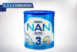 Tarros NAN®, 1, 2 o 3 tarros a elección