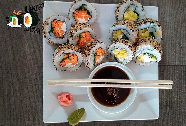 40, 60, 80 o 100 piezas de Sushi