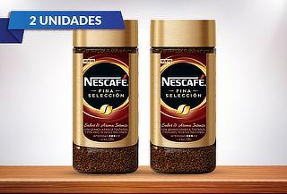 Pack 2 Nescafé fina selección