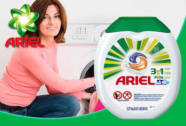 Detergente Ariel Pods 90 Cápsulas