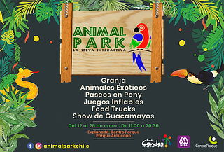 Entrada general para niño o adulto al Animal Park 2020