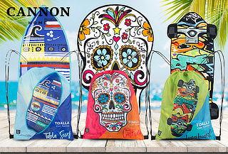 Toalla de Playa + Mochila Cannon