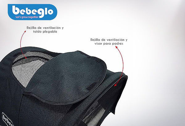 Triciclo Bluetooth Reversible One Click RS-4080 Bebeglo