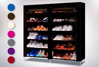 Clóset de Tela Armable para Zapatos