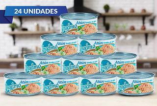 Pack 24 Latas de Atún en Lomito en Agua Angelmo