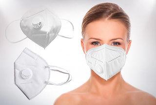 Mascarilla KN95 con válvula de aire filtro Partículas PM2.5
