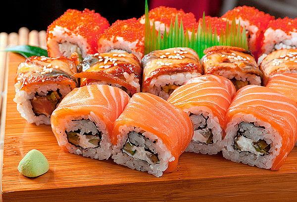 Mix de 36, 60 o 84 piezas de Sushi con retiro o despacho