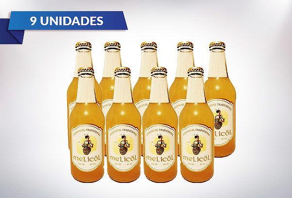 9 Botellas de 330cc Hidromiel Melicöl + Despacho Santiago