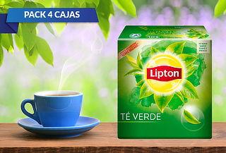400 Bolsitas Té Lipton Verde Clásico ¡Calientito!