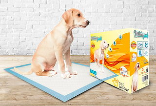 100 Toallas de Entrenamiento de Perros 45x60 cm
