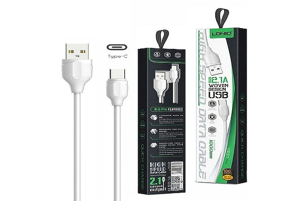 Cable Tipo C Entrada Universal Usb de 1 Metro + Envío