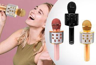 Microfono parlante karaoke MK, diseño a Elección