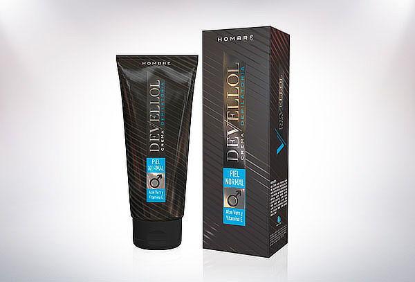Crema Depilatoria Devellol Para Hombre 200 ml