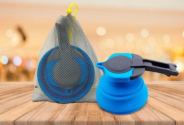 Tetera Plegable 1,5 Litros Pro Outdoor Azul