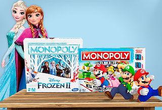 Monopoly Mario Gamer o Frozen 2, elige tu favorito