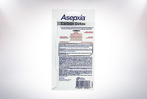 Pack 3 Parches Carbon Asepxia 12 Piezas c/u