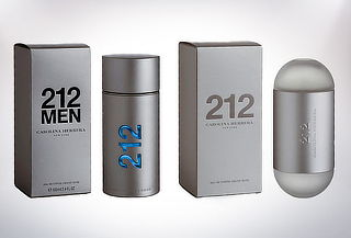 Perfume Carolina Herrera 212 Men o Woman