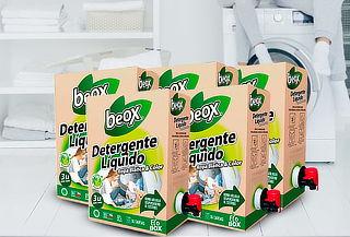 15 litros de detergente líquido biodegradable Beox