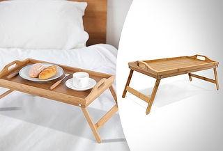 Bandeja de madera para tus comidas
