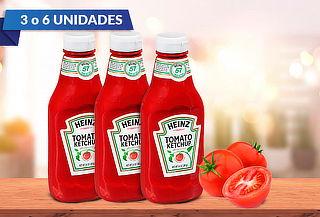 Pack de Ketchup pet de 397 Gr. Heinz