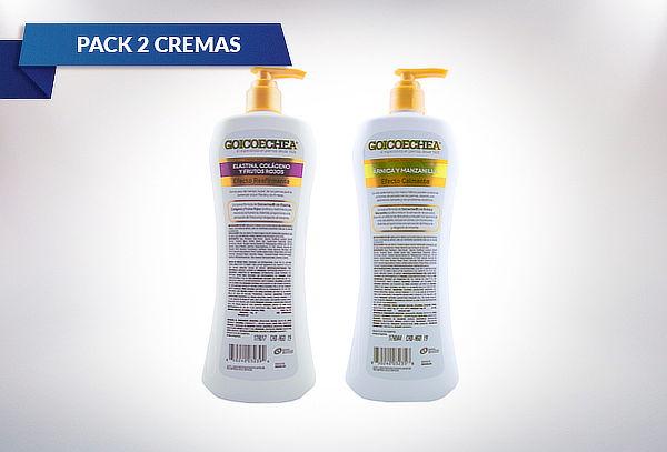 Pack goicoechea 2 Cremas corporales 400 ML