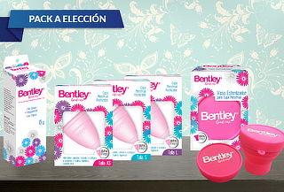 Pack Bentley Copa Menstrual + Gel o Vaso Esterilizador