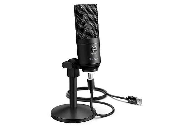 Micrófono Fifine USB 16 MM Diafragma Modelo K670B + Envío