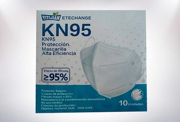 Pack 10 Mascarillas KN95