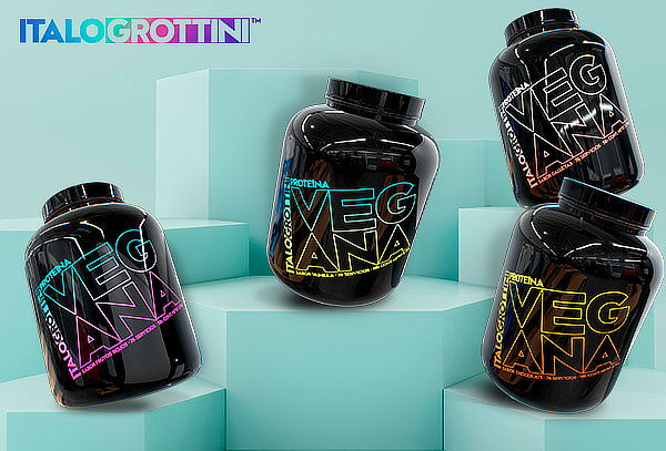 Proteína Vegana Italo Grottini 2,3 Kg, sabores