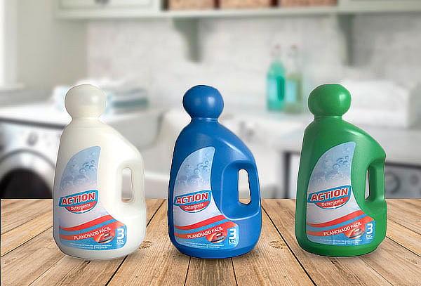 9 Litros de Detergente Liquido Action