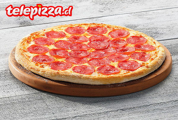 Pizza Mediana Pepperoni Telepizza Retiro en Local