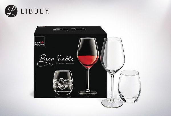 Set Copas/Vasos de Vidrio Libbey 8 piezas