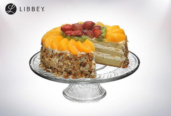 Plato Torta de Vidrio 31cm con Pie Libbey