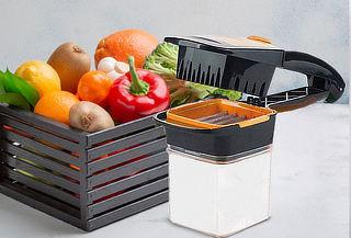 Cortador Rebanador de Frutas y Verduras 5 en 1