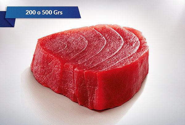 200 Grs de Atún Steak o 500 Grs de Atún en Cubo