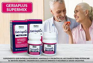 Pack de 2 Frascos de Geriaplus supermix Nutrapharm