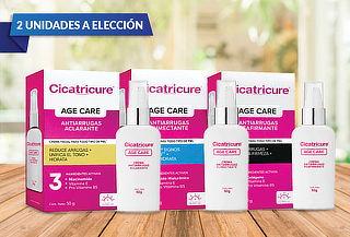 Pack cicatricure 2 cremas age care a eleccion