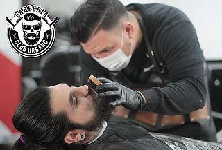Corte + Barba + Limpieza facial en Barbería Club Urbano