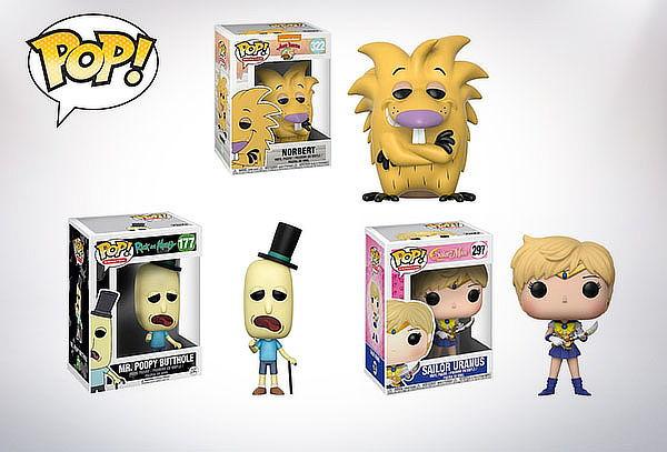 Figuras Funko POP! Cartoons