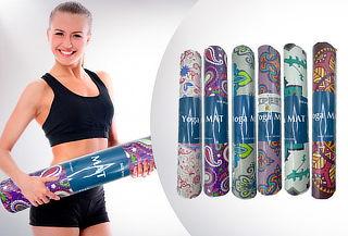 Ejercitate! Mat de Yoga 6MM Diseño a elección