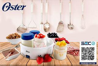 Prepara tu Propio Yogurt Artesanal con Yogurtera Oster 1001
