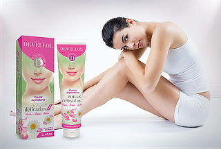 Crema Depilatoria Devellol Zonas Delicadas 40 ml