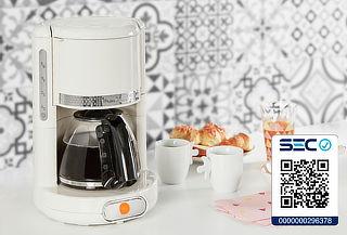 Cafetera Soleil Blanca Moulinex FG381A10