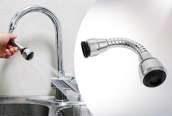 Manguera adaptador flexible lavaplatos cocina