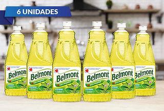 Pack 6 Belmont Aceite Vegetal 1 L