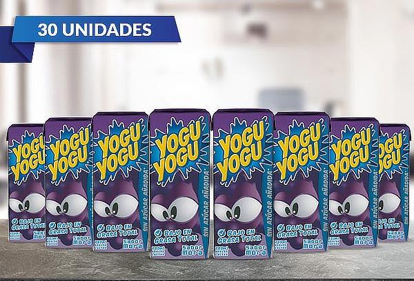 Pack 30 Yogu Yogu Mora 200 ml