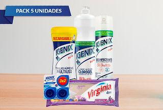 Pack Limpieza Rápida Igenix-Virginia 5 Unidades