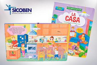 "Libro Flip Flap ""La casa"""