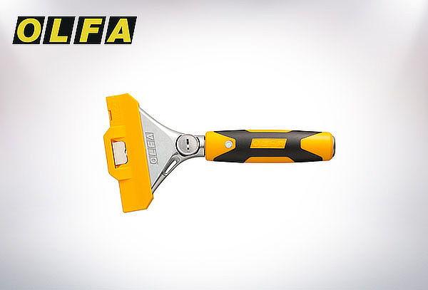 Cuchillo tipo raspador 10 mm. con mango de 20 cm